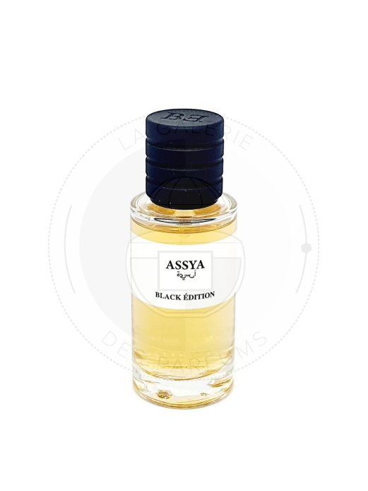 Assya - Black Edition - La Galerie Des Parfums