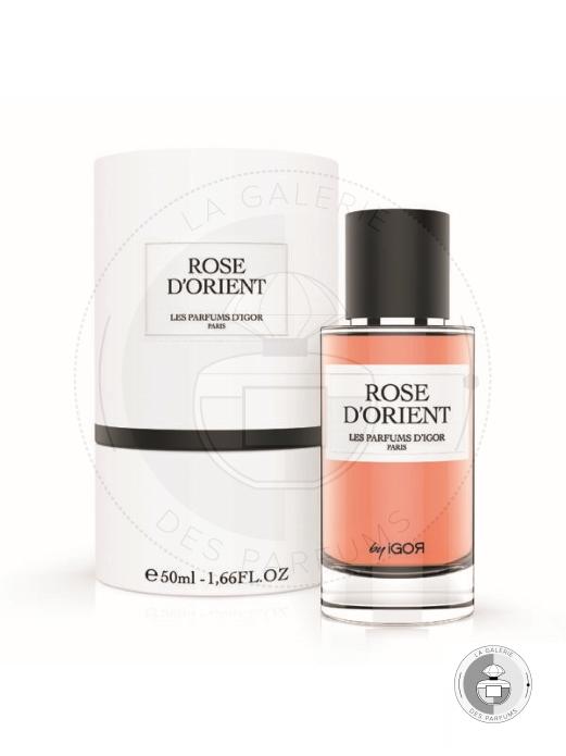 Rose D'orient Coffret - Les Parfums d'Igor - La Galerie Des Parfums